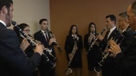 Banda Simfònia La Sonora tv3 Pau Benavent Certamen La Sénia. clarinets