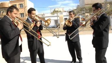 Banda Simfònia La Sonora tv3 Pau Benavent Certamen La Sénia. trombons