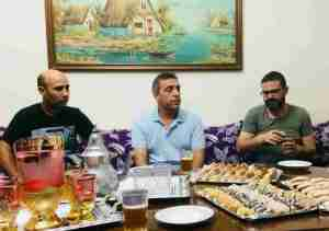 Conversa Ahmed Touzani, Pep Botifarra, Pere Ródenas amb Pau Benavent per a VilaWeb