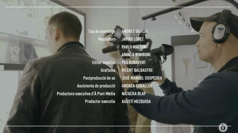 Antoni Puchades. Programa Homenatges d'À Punt. Editor musical. Pau Benavent. Crèdits