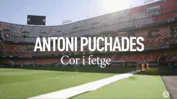 Antoni Puchades. Programa Homenatges d'À Punt. Editor musical. Pau Benavent. Títol