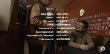 Capítol Ovidi Montllor. Programa Homenatges d'À Punt. Editor musical Pau Benavent......