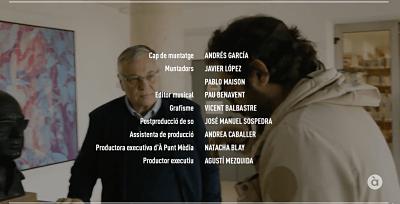 Crèdits Vicent Andrés Estellés. Programa Homenatges d'Àpunt. Editor Musical Pau Benavent