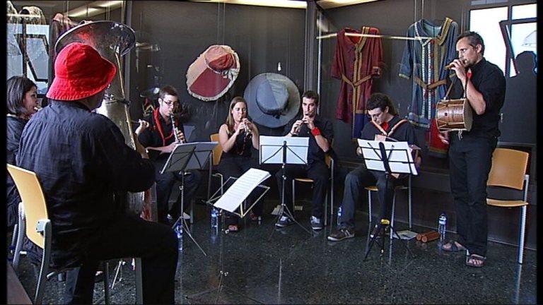Les músiques de la Patum. Programa nydia de TV3 Canal 33. Pau Benavent..