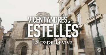 Títol Vicent Andrés Estellés. Programa Homenatges d'Àpunt. Editor Musical Pau Benavent