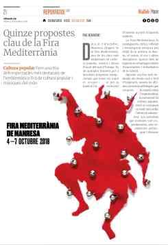 VilaWeb paPER Pau Benavent Fira Medtierrània. Full 1