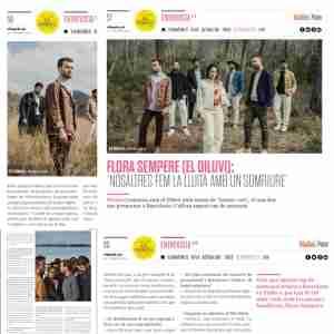 VilaWeb Paper: Pau Benavent entrevista Flora Sempere de el Diluvi